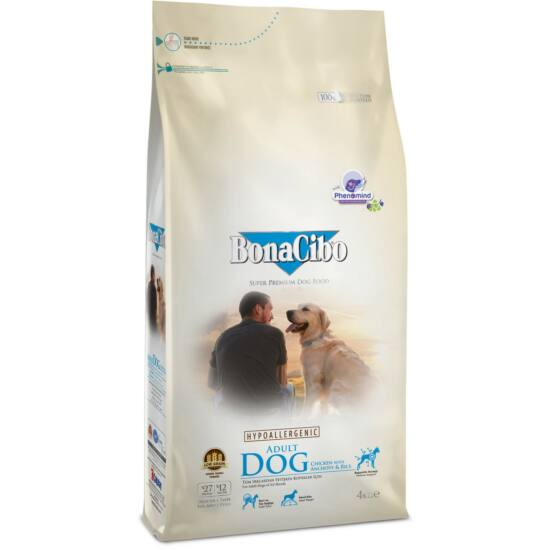 BONACIBO ADULT DOG (Chicken_and_Rice with Anchovy) 15 kg