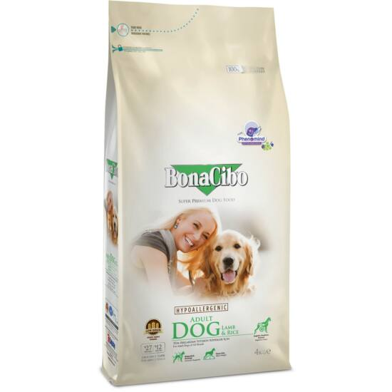 BONACIBO ADULT DOG (Lamb_and_Rice) 15 kg
