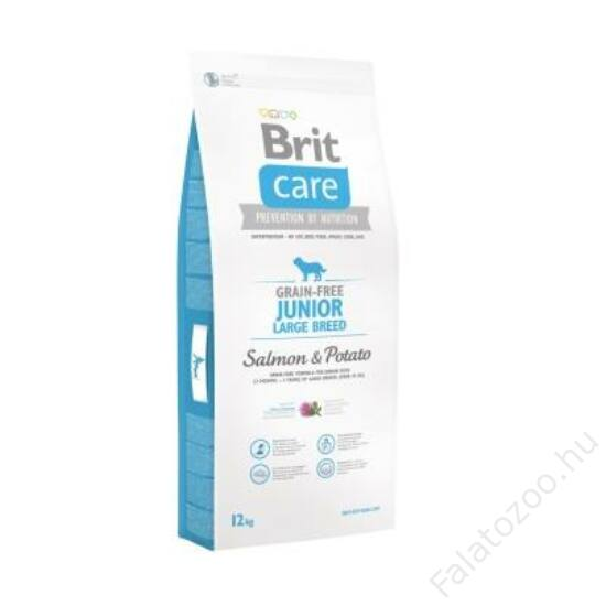 Brit Care Grain-free Junior Large Breed Salmon & Potato 1 kg
