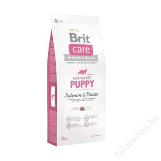 Brit Care Grain-free Puppy Salmon & Potato 12 kg 2db