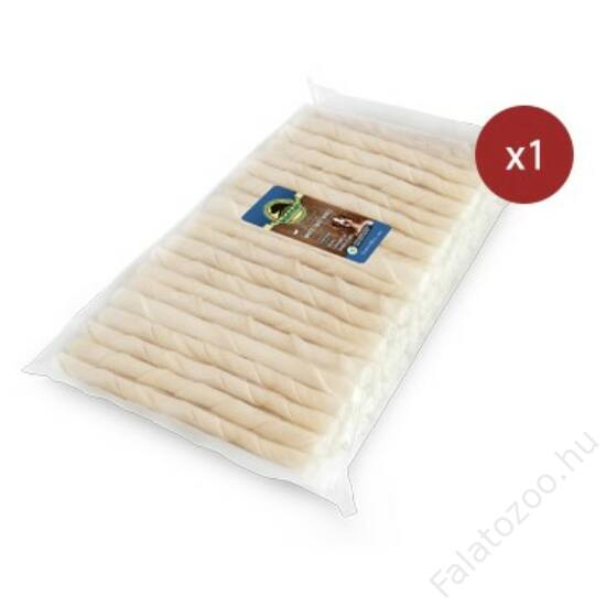 KENNEL CHEWING BONES WHITE TWIST BONES 12CM (100db) 700g