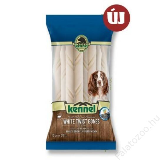 KENNEL CHEWING BONES WHITE TWIST BONES 12CM (20db) 140g