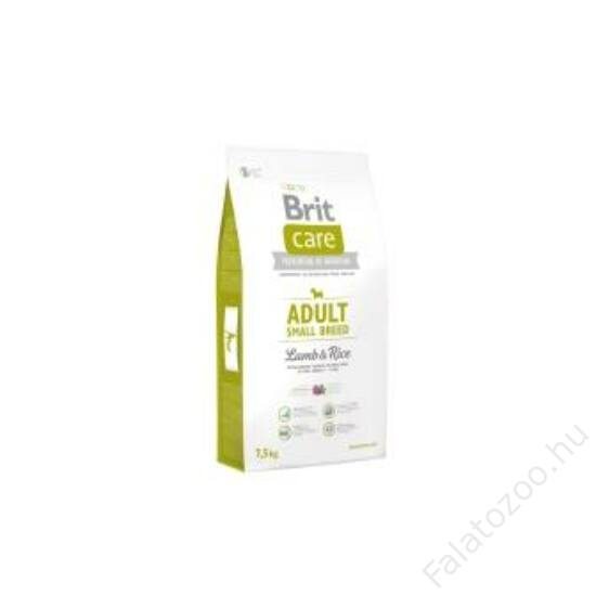 Brit Care Adult Small Breed Lamb & Rice 7,5 kg 2db