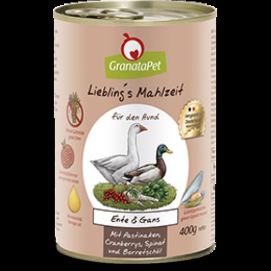 GranataPet Liebling´s Mahlzeit kacsa és liba 800 g