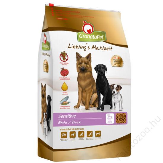 GranataPet Liebling's Mahlzeit sensitive kacsa felnőtt kutyatáp 4 kg